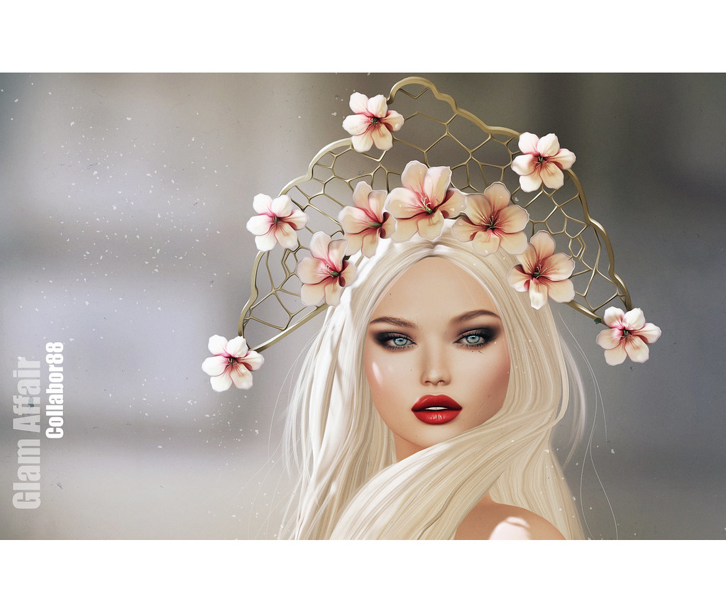 Glam Affair - New Headpiece for Collabor88 - TeleportHub.com Live!