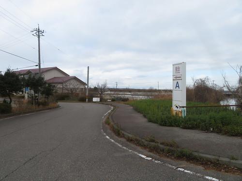 金沢競馬場のA駐車場