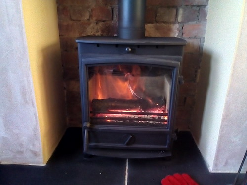 wood fired stove Dec 17 3
