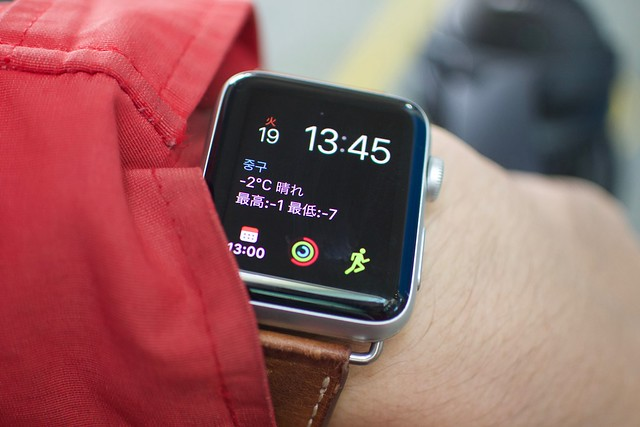 Apple Watch in Seoul