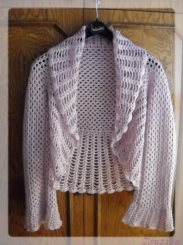 crochet , bolero, easy