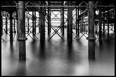 Underneath Southend Pier