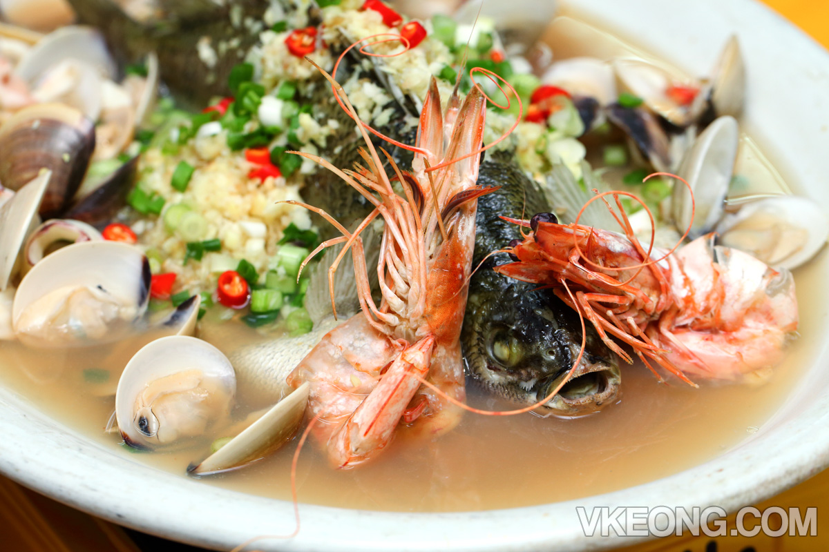 Steamed-Fish-Lala-Sotong
