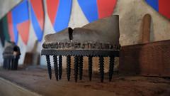 Château d'Aujac - Les chaussures à enlever les bogues