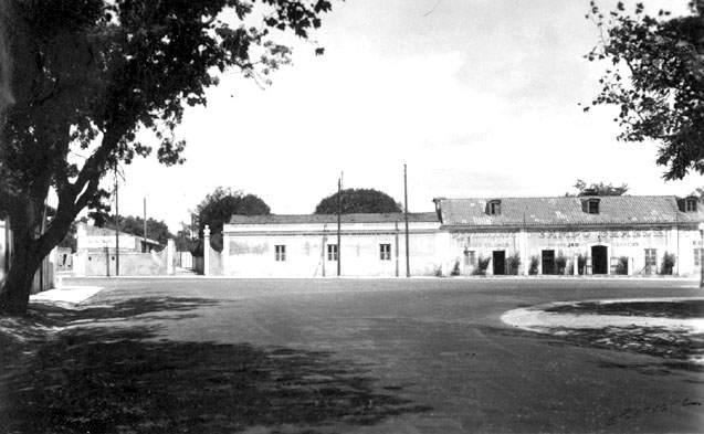 Entrada do campo do Sporting, Campo Grande (E. Portugal, 1938)