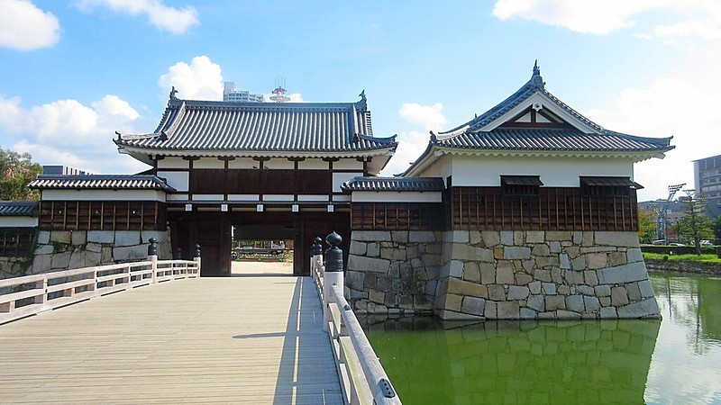 Hiroshima Castle reconstructed 1958