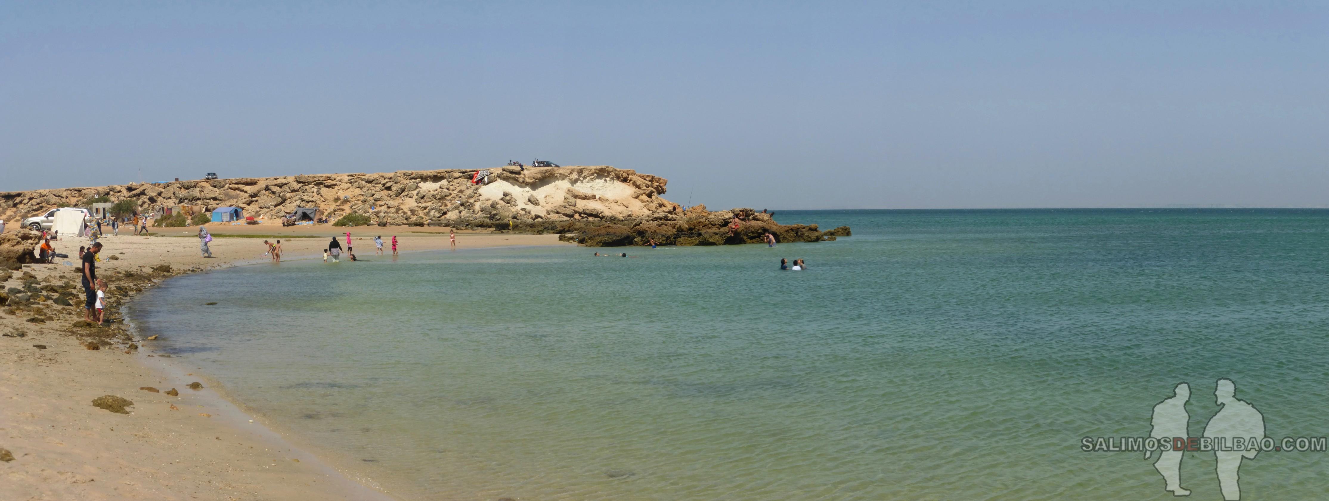 0128. Pano, Playa de los Saharauis, Trayecto de La Source a Dakhla