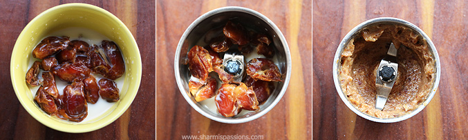 How to make dates dark chocolate mousse recipe