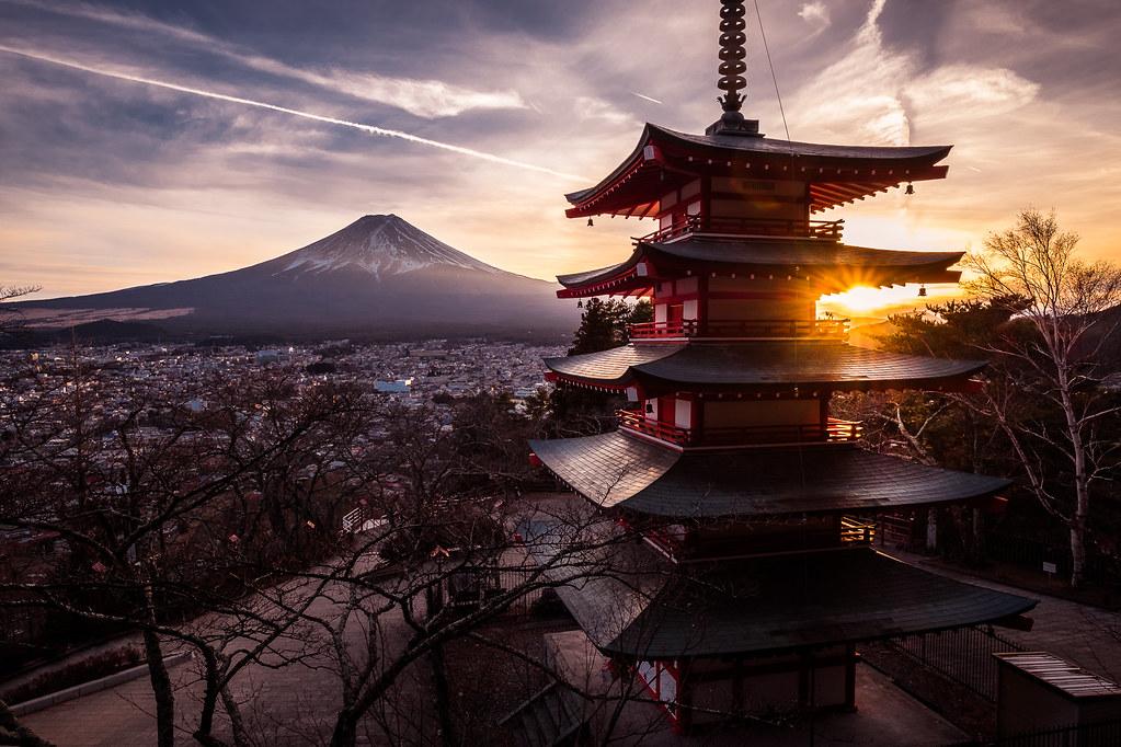 Chureito Pagoda, Fujiyoshida-shi, Japan picture