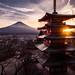 Chureito Pagoda - Fujiyoshida-shi, Japan - Travel photography by Giuseppe Milo (www.pixael.com)