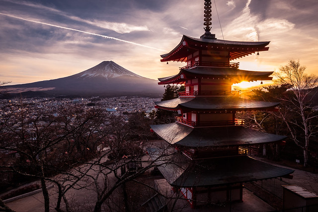 Chureito Pagoda - Fujiyoshida-shi, Japan - Travel photography