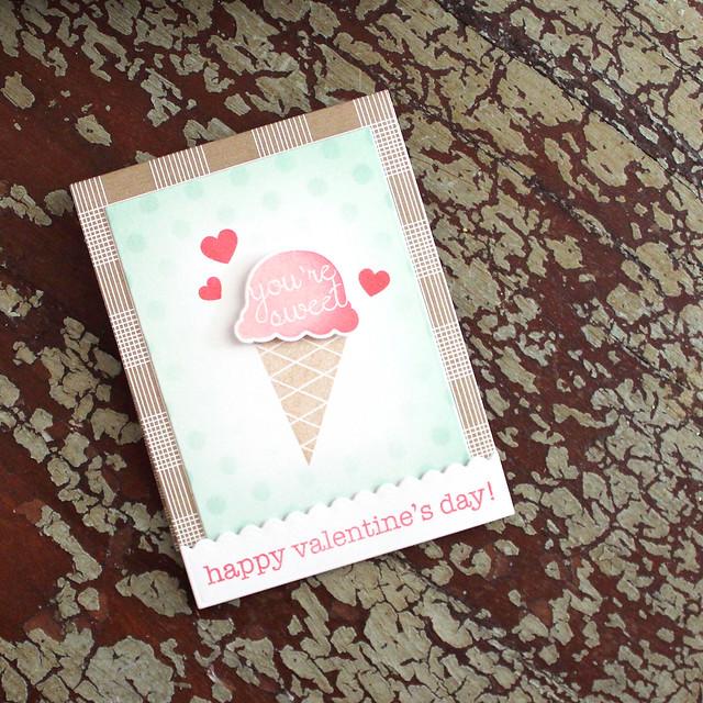 Lizzie Jones - Ice Cream Matchbook