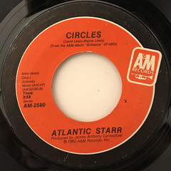 ATLANTIC STARR:CIRCLES(LABEL SIDE-A)