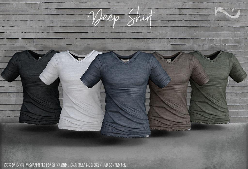 -NU- Deep Shirt - TeleportHub.com Live!