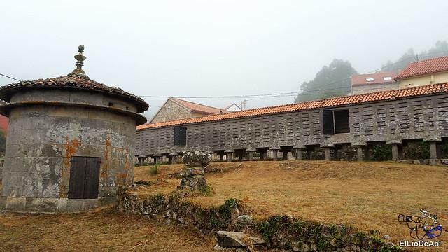 Horreos de Carnota y Lira, los mas grandes de Galicia 13