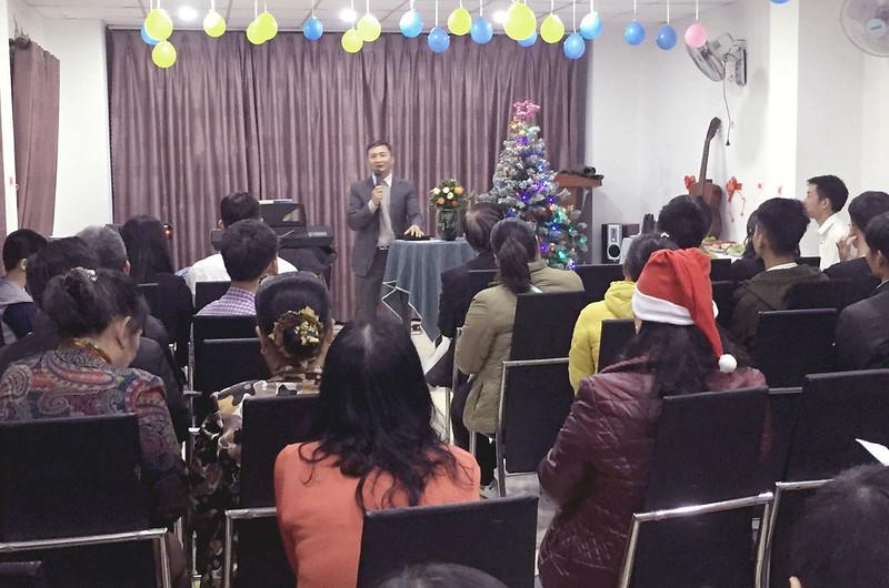 Hội Thánh Đà Nẵng - Giáng sinh có khoảng 40 người tham dự