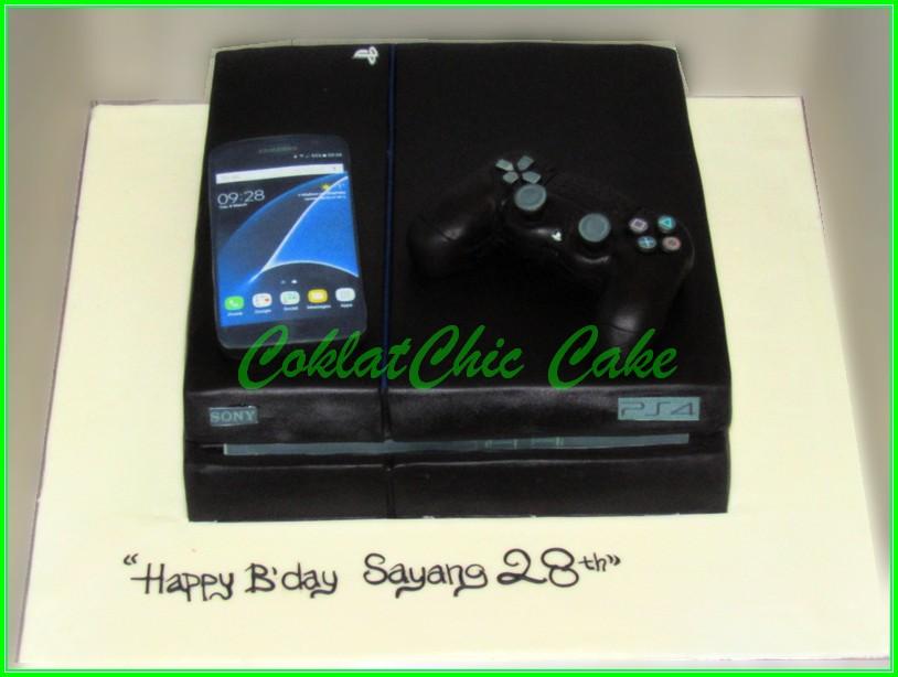 cake PS 4 20cm