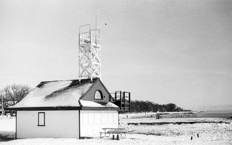 Frozen Solid Lifeguard Hut