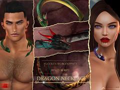 -Labyrinth- Dragon Necklace Advert