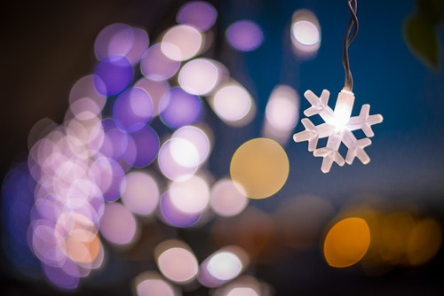 Electric Snowflakes