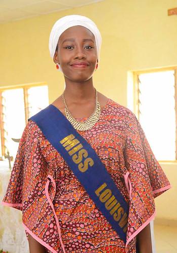 Nwandito Akwani, newly crowned Miss Louisville, Abuja, 2017/18