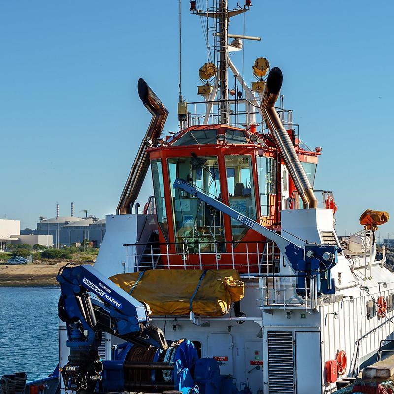 Hafenschlepper & Schiffe