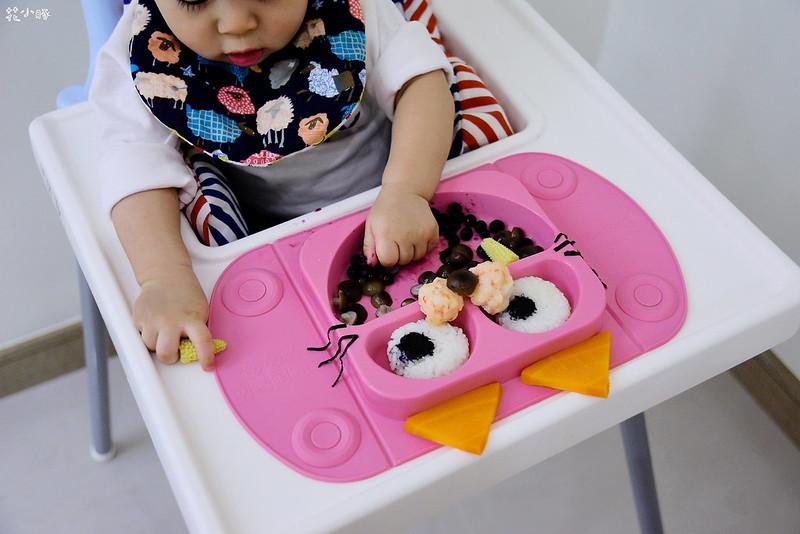 easymat餐盤防拔嬰兒餐具吸盤嬰兒餐具推薦嬰兒副食品餐具推薦EasyMat防滑矽膠餐盤 (22)