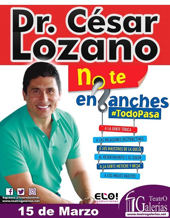 Cesar Lozano / Teatro Galerías.