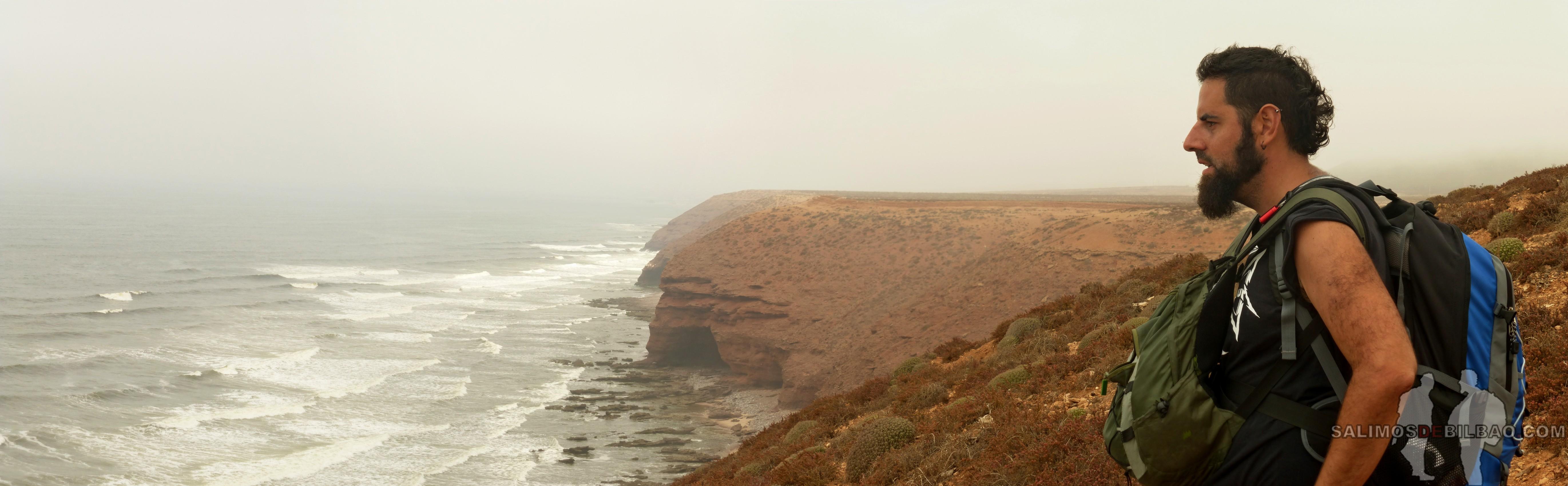 363. Katz, Pano, Camino de Sidi Ifni a Legzira