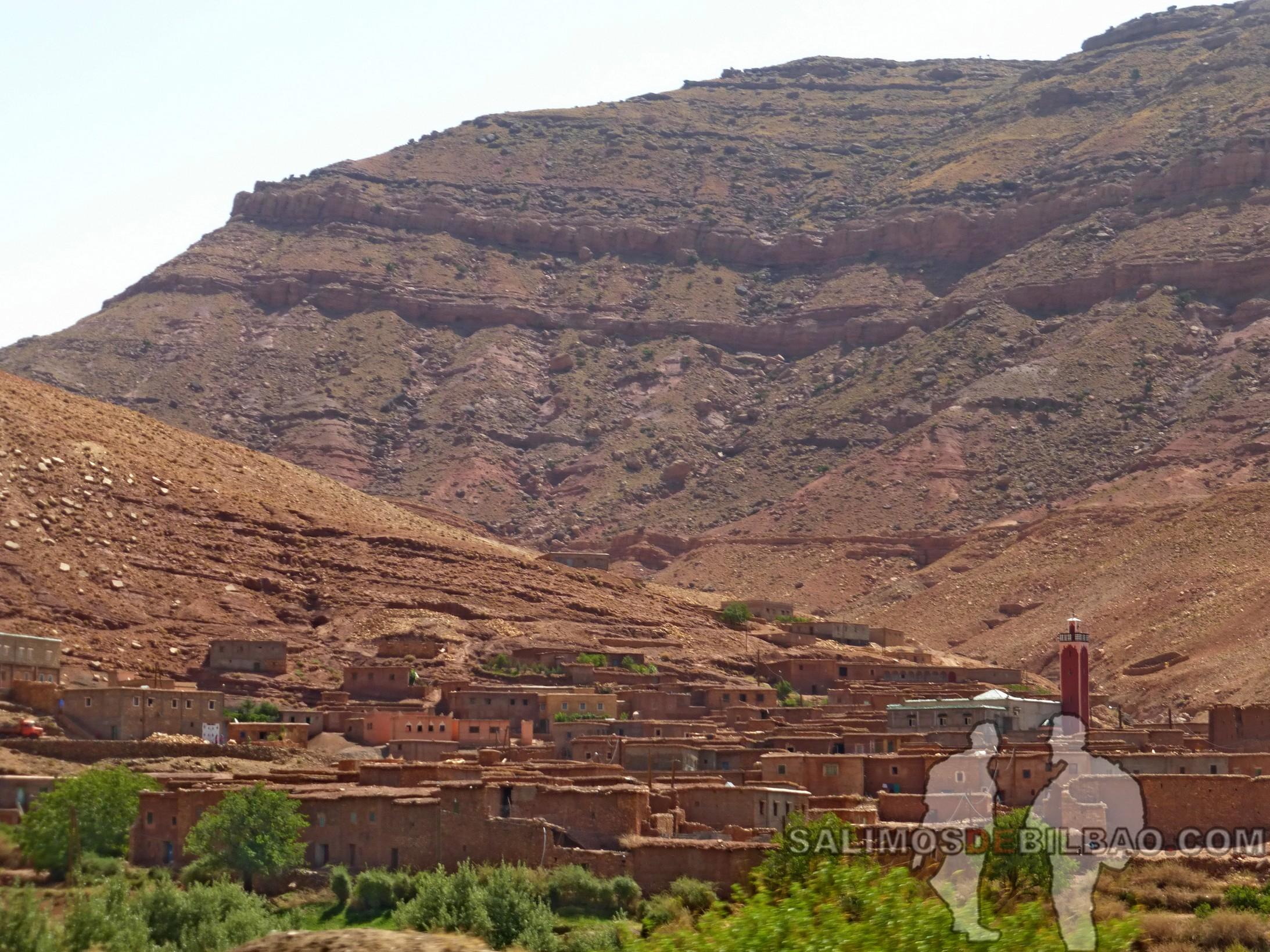 664. Camino de Tabourahte a Marrakech
