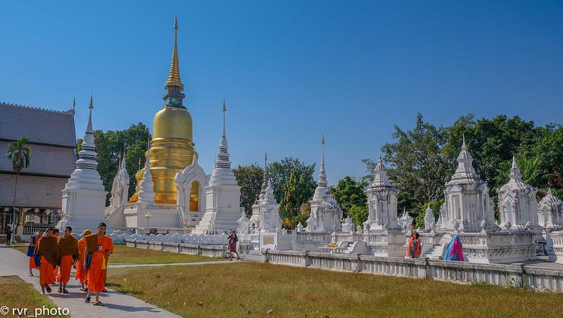 Wat Suan Dok, Chiang Mai, Tailandia