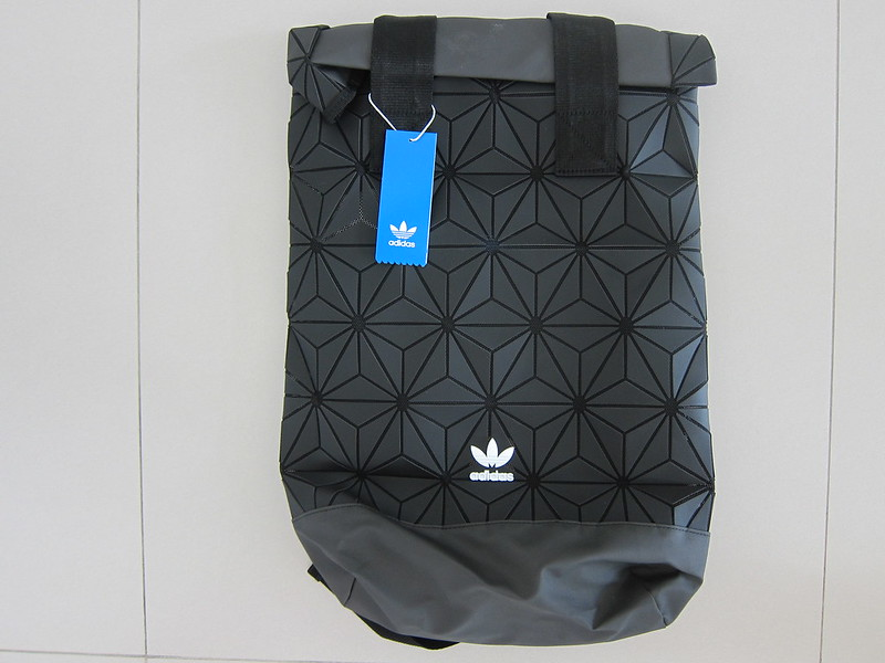 Adidas 3D Roll Top Backpack - Front