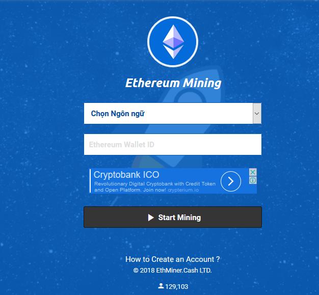 Vừa lướt web vừa kiếm Etherum (ETH) với Ethminer