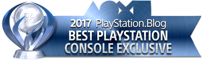 PlayStation Blog Game of the Year 2017 - Best PlayStation Console Exclusive (Platinum)