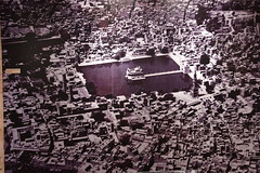 An aerial view of the Golden Temple during the pre-partition days
