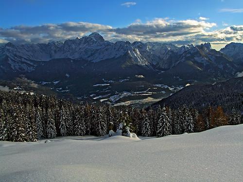 Julian Alps from Gorjane