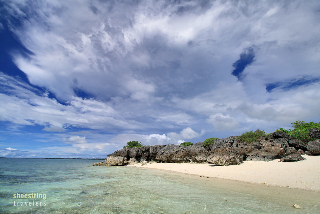 clouds over Paradise Beach