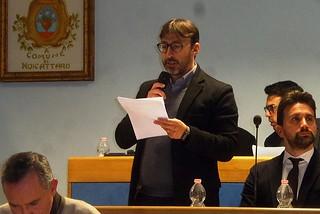 Noicattaro. Il vice sindaco Nunzio Latrofa front