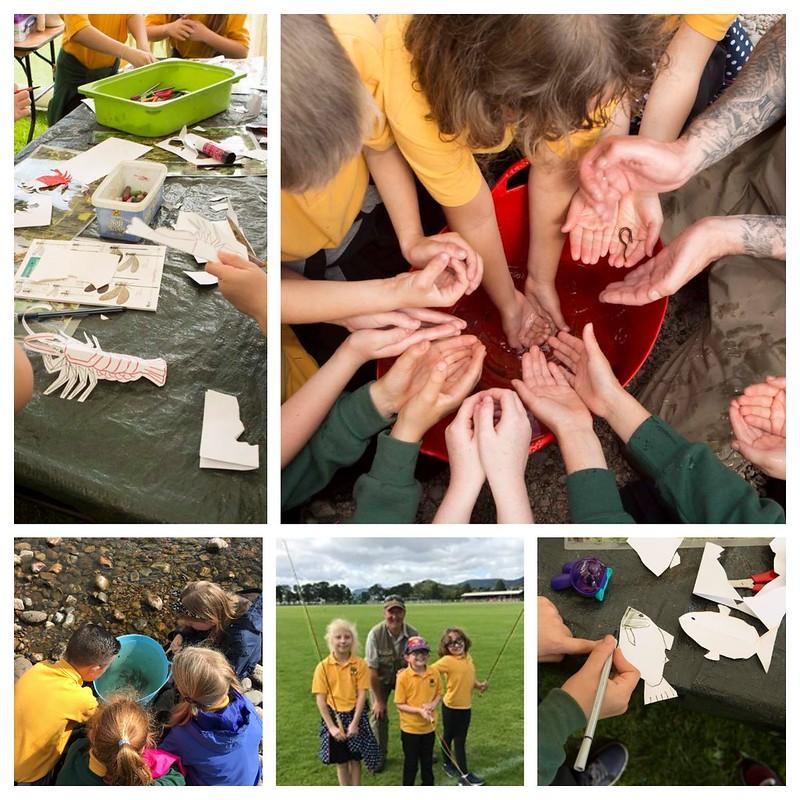 Bught park Schools Visit