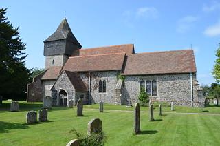 Elmstead, St James the great church
