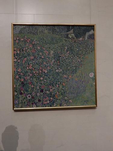 DSCN9956 _ A Garden in Italy, Klimt, 1913 - Klimt & Rodin