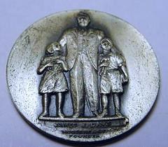 1938 Mooseheart Medal reverse