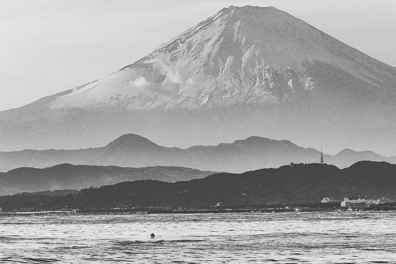 富士山|鎌倉海岸