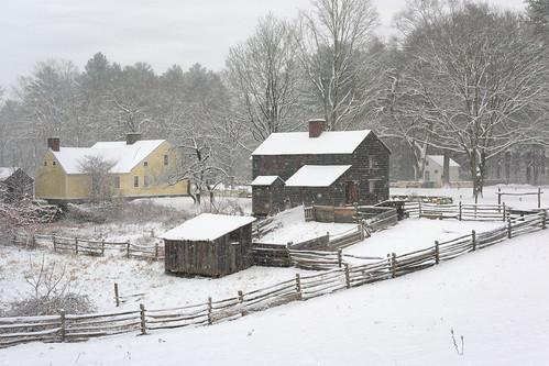 happynewyear 2018 happy year years new snow cold winter fences oldsturbridge sturbridge village massachusetts newengland holiday