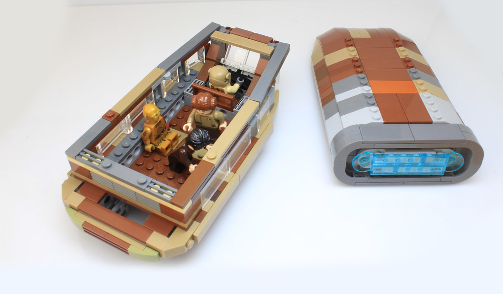 Lego Resistance transport from The Last jedi MOC