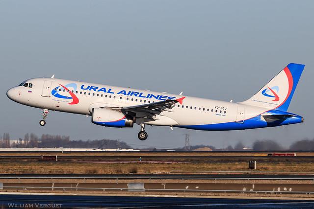 A320 / Ural Airlines / VQ-BGJ