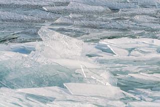 Lake Ice, Duluth 2/3/08 #lakesuperior #winter