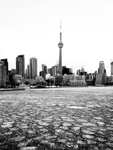 Toronto Harbour Ice Flow