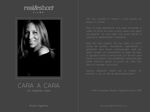 CARA A CARA con Alejandro Calore (REAL&SHORT)