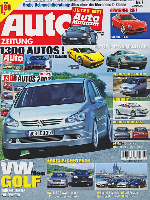 Auto Zeitung - 2003-07 - cover